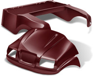 Doubletake Phantom Golf Cart Body Kit for Club Car Precedent in High Gloss Metallic Burgundy
