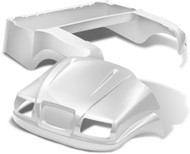 Doubletake Phantom Golf Cart Body Kit for Club Car Precedent in White Pearl