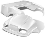 Doubletake Phantom Golf Cart Body Kit for Club Car Precedent in White