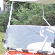 Windshield, Clear 2 Piece, Club Car New Style 2000+