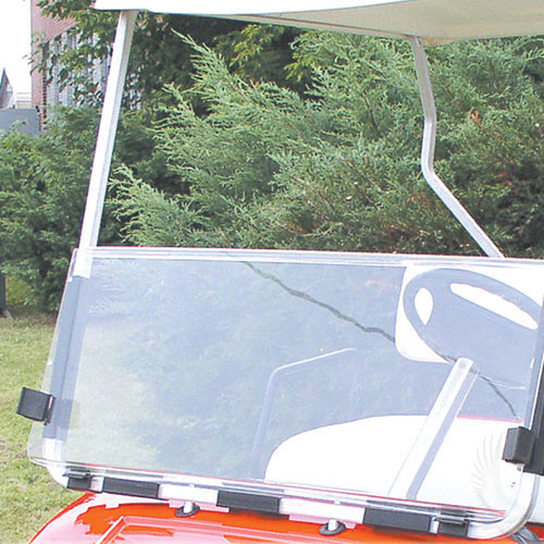 Windshield, Clear 2 Piece, Yamaha G14/G16/G19 95-03