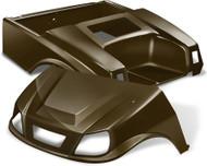 Club Car DS Spartan Golf Cart Body Kit in Metallic Bronze