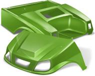 Club Car DS Spartan Golf Cart Body Kit in Lime Green