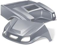 Club Car DS Spartan Golf Cart Body Kit  in Silver