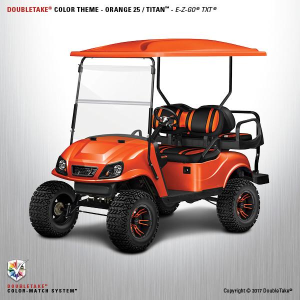 Doubletake EZ-GO TXT Titan Golf Cart Body Kit in High ...