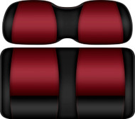Doubletake FANatic Edition Front Seat Cushion Set Black-Ruby