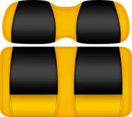 Doubletake FANatic Edition Front Seat Cushion Set Maize-Black