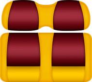 Doubletake FANatic Edition Front Seat Cushion Set Maize-Ruby