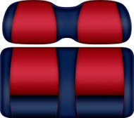 Doubletake FANatic Edition Front Seat Cushion Set Navy-Red