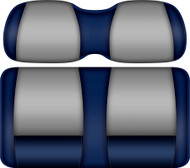 Doubletake FANatic Edition Front Seat Cushion Set Navy-Silver