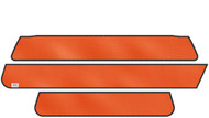 DoubleTake Color Matched Track Top Valance