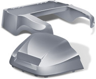 Club Car Precedent Factory Style Golf Cart Body Kit in Metallic Silver