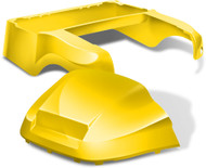 Club Car Precedent Factory Style Golf Cart Body Kit in High Gloss Yellow