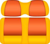 DoubleTake Tropical Edition Seat Cushion Assembly Sun-Tangerine