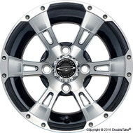"DoubleTake 12"" Wicked 57 Series Wheel Machined Black"