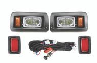 Club Car DS Basic LED Light Kit Front/Rear lights w/ harness