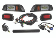 EZ-GO TXT LED Deluxe Light Kit with Wiring Harness Horn, Turn Signals and Brake switch