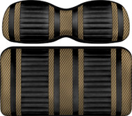 Doubletake Deluxe Extreme  Front Seat Cushion Set Black-Bronze