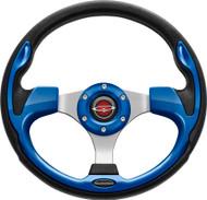 "Pilot 13"" Color Matched Steering Wheel Blue"