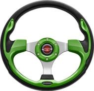 """Pilot 13"""" Color Matched Steering Wheel Lime"""