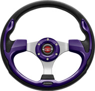 """Pilot 13"""" Color Matched Steering Wheel Purple"""