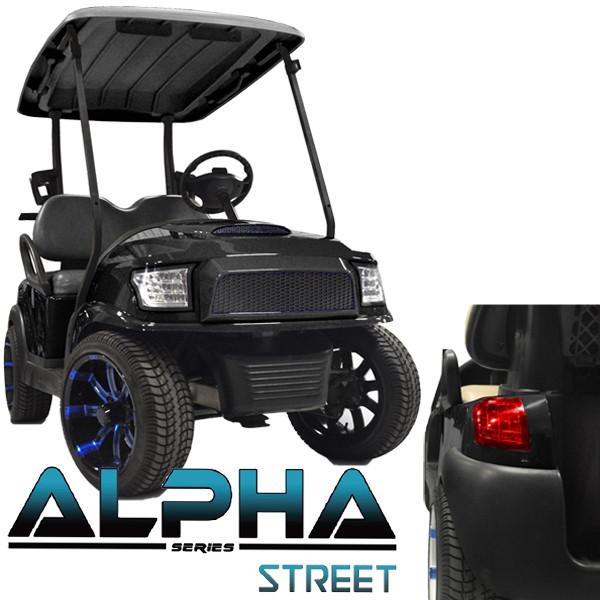 Madjax Alpha Golf Cart Kit Black | Extremekartz.com on e-z-go golf cart, stens golf cart, club car golf cart, franklin golf cart, orlimar golf cart,