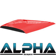 Hood Scoop for Alpha Body Off Road or Street Red