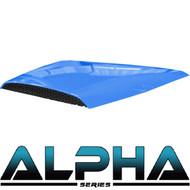 Hood Scoop for Alpha Body Off Road or Street Blue