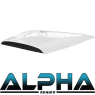 Hood Scoop for Alpha Body Off Road or Street White