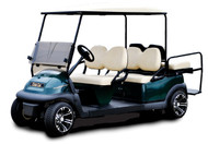 Club Car Gas Precedent Gas with EFI 6 Passenger Limo Kit