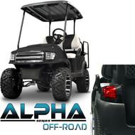 Madjax Alpha Golf Cart Body Kit in Black | Extremekartz.com