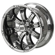 LSC Casino SS Mirrored 14X7 3:4 Offset for Club Car, EZ-GO and Yamaha Golf Carts