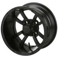 LSC Maltese Cross SS 12X7 Matte Black 2:5 Offset