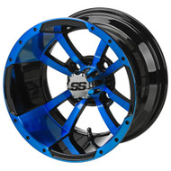 LSC Maltese Cross SS 12X7 Black/Blue 2:5 Offset