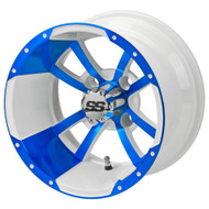 LSC Maltese Cross SS 12X7 White/Blue 2:5 Offset