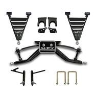 """MJFX Club Car DS 6"""" HD Lift Kit 84- 2000.5 w/ Steel Dust Caps"""