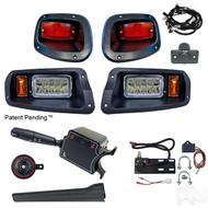 Factory Style  Light Kit, E-Z-Go TXT 14+ (Deluxe Switch, Plunger Brake Switch)
