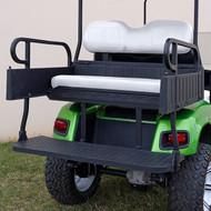 RHINO 900 Series Rear Seat/Cargo Box Kit for EZ-GO RXV Oyster (White Shown)