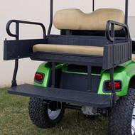 RHINO 900 Series Rear Seat/Cargo Box Kit for EZ-GO TXT Tan