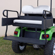RHINO 900 Series Rear Seat/Cargo Box Kit for EZ-GO TXT White