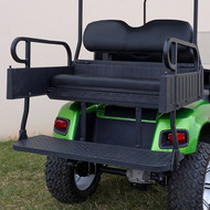RHINO 900 Series Rear Seat/Cargo Box Kit for Club Car Precedent Black