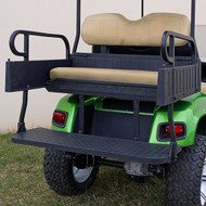 RHINO 900 Series Rear Seat/Cargo Box Kit for Yamaha G14-G22 Tan