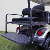 RHOX 400 Series Steel Rear Flip Seat for Yamaha Drive Black