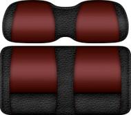 Veranda Edition Golf Cart Seat Black-Burgundy
