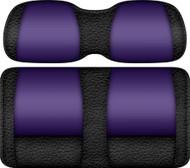 Veranda Edition Golf Cart Seat Black-Purple