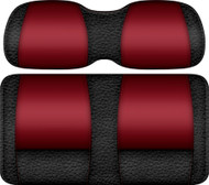 Veranda Edition Golf Cart Seat Black-Ruby