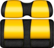Veranda Edition Golf Cart Seat Black-Yellow