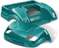 Yamaha Drive Vortex Body Kit in Teal