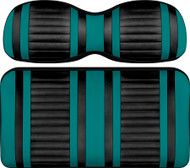 Doubletake Deluxe Extreme  Front Seat Cushion Set Teal-Black