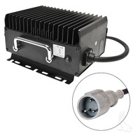 Admiral Advantage Plus High Frequency Charger 15AMP Club Car Requires Bypass